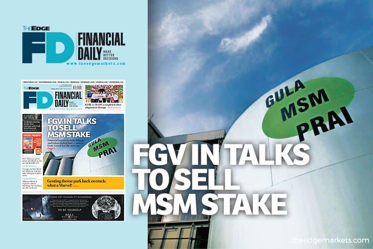 FGV洽售MSM股权